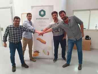 Foto de Celebración nueva delegación de Proteinsecta Catalunya