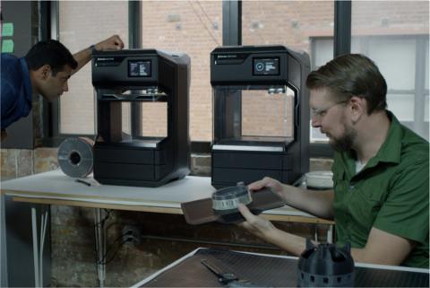 Foto de MakerBot en la industria