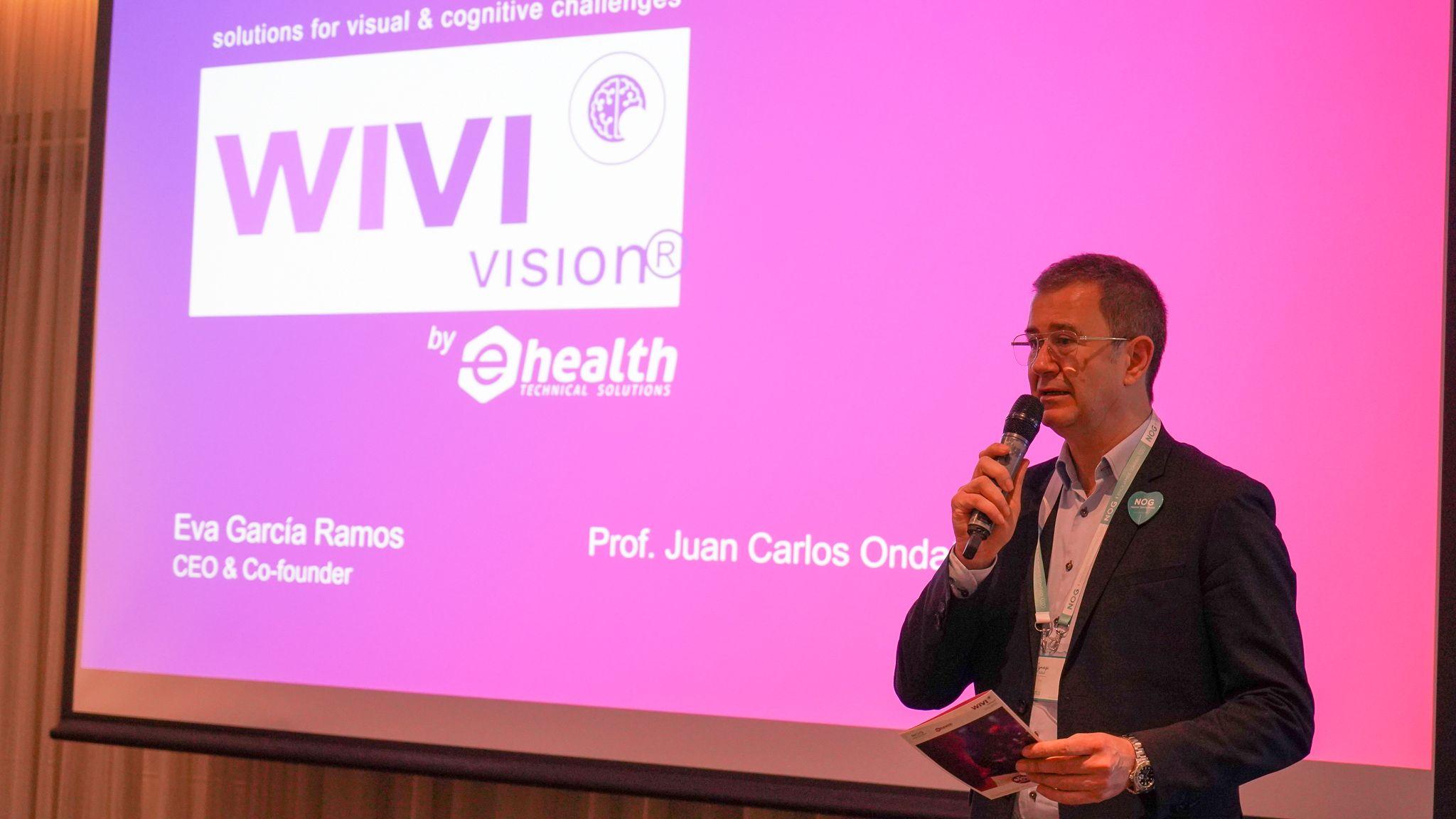 Foto de NOG y WIVI Vision en pro de la salud visual.