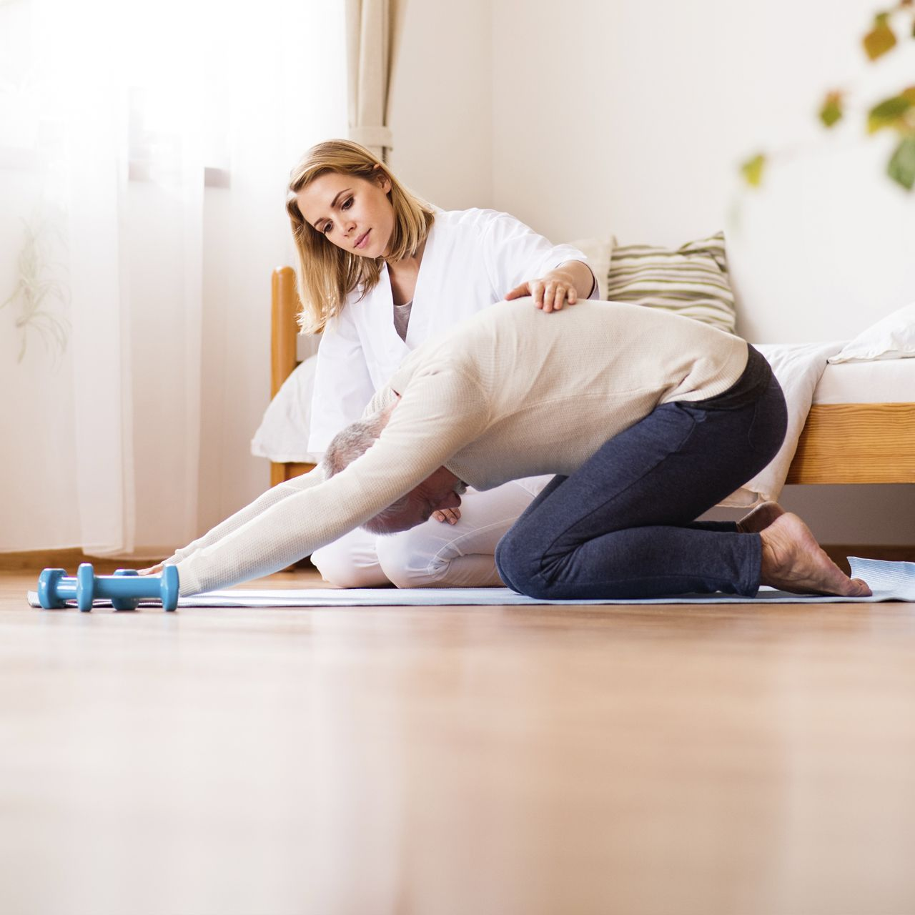 Fisioserv presenta su fisioterapia de lujo en casa