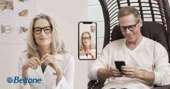 Beltone Remote Care Live acerca la evaluación auditiva del audioprotesista a la comodidad del sofá del paciente