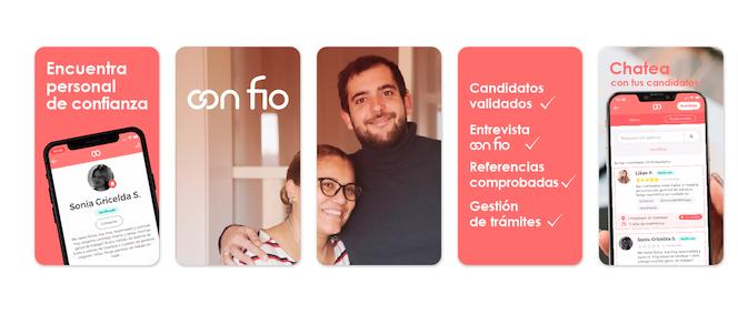 CON FIO, la plataforma que encuentra la ayuda necesaria para el hogar con confianza y seguridad