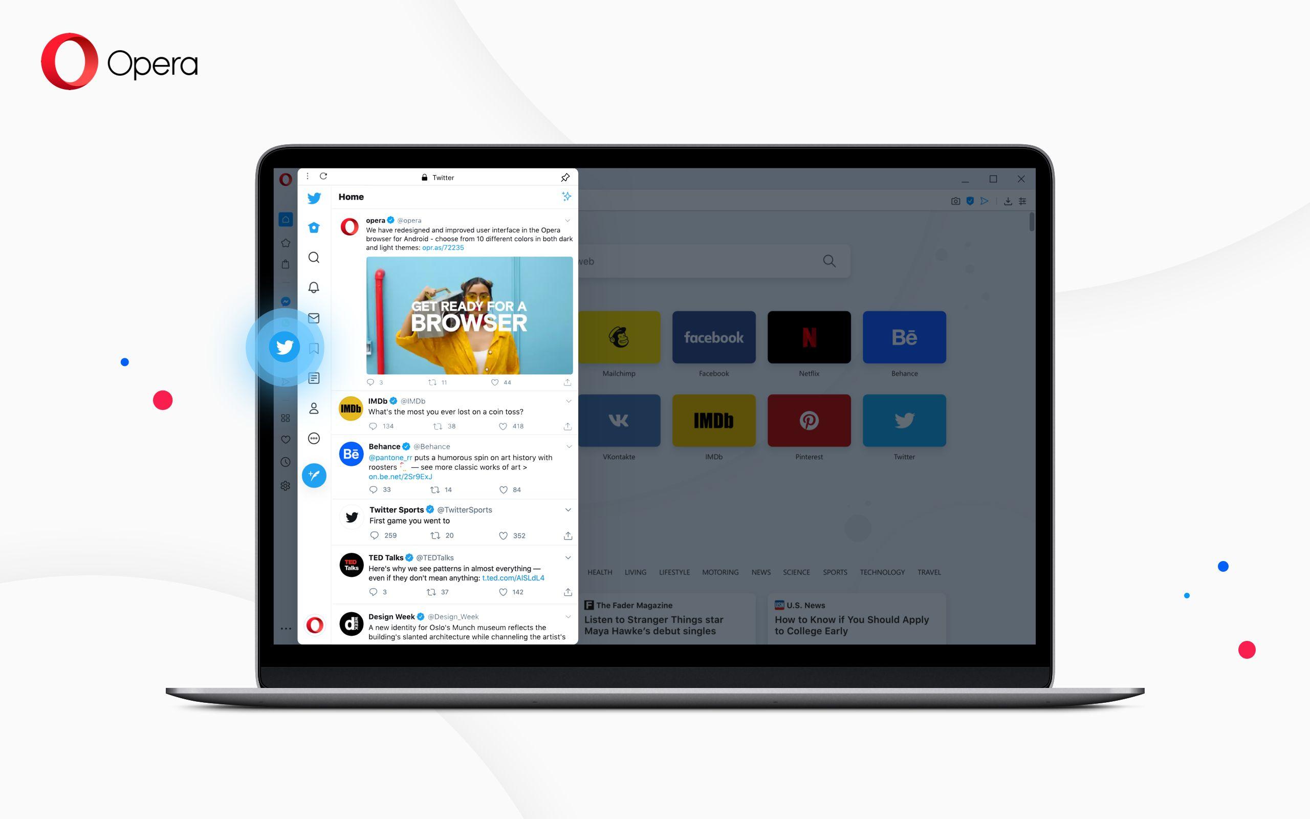 Fotografia Opera se posiciona como el navegador más 'social