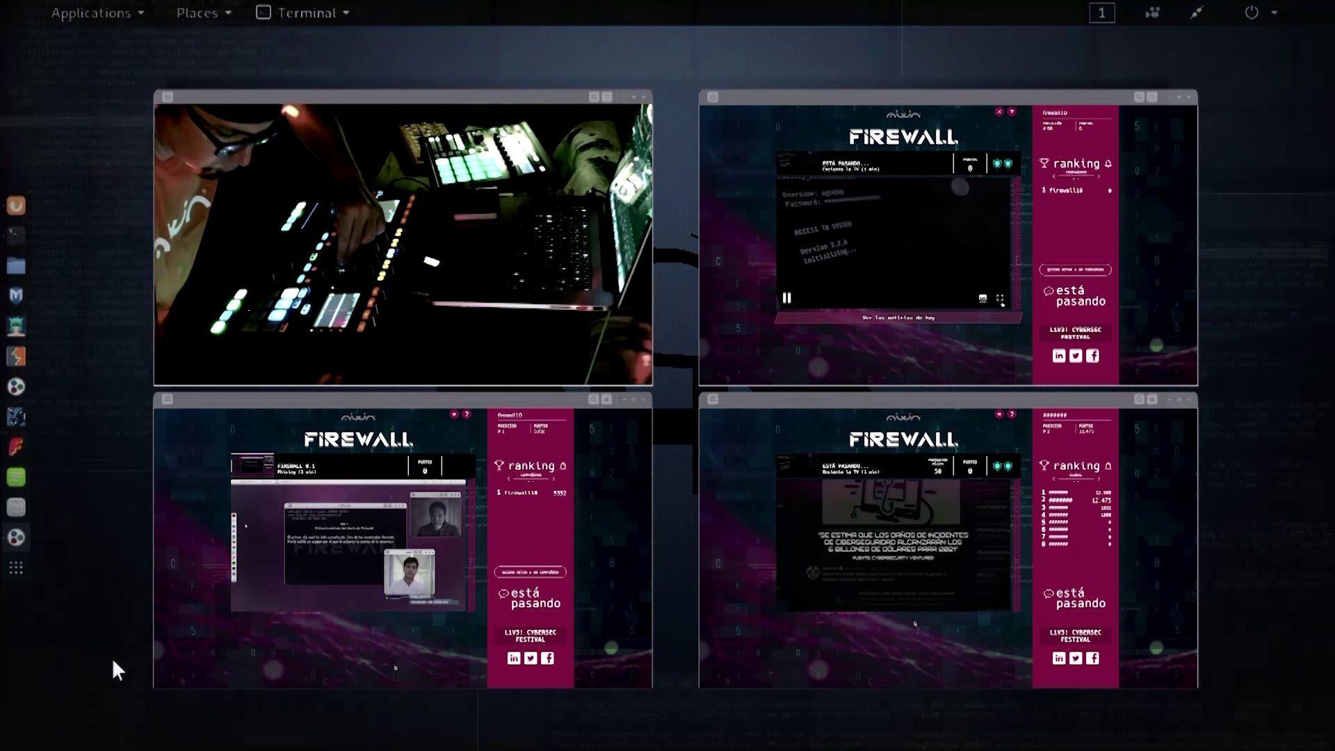 Foto de DJ Hellaven en L1v3! CyberSec Festival