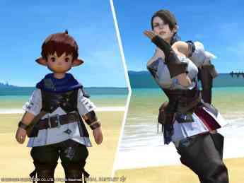 Cambiar de aspecto en Final Fantasy XIV Online