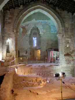 Interior de la Iglesia de Santiago de Sigüenza