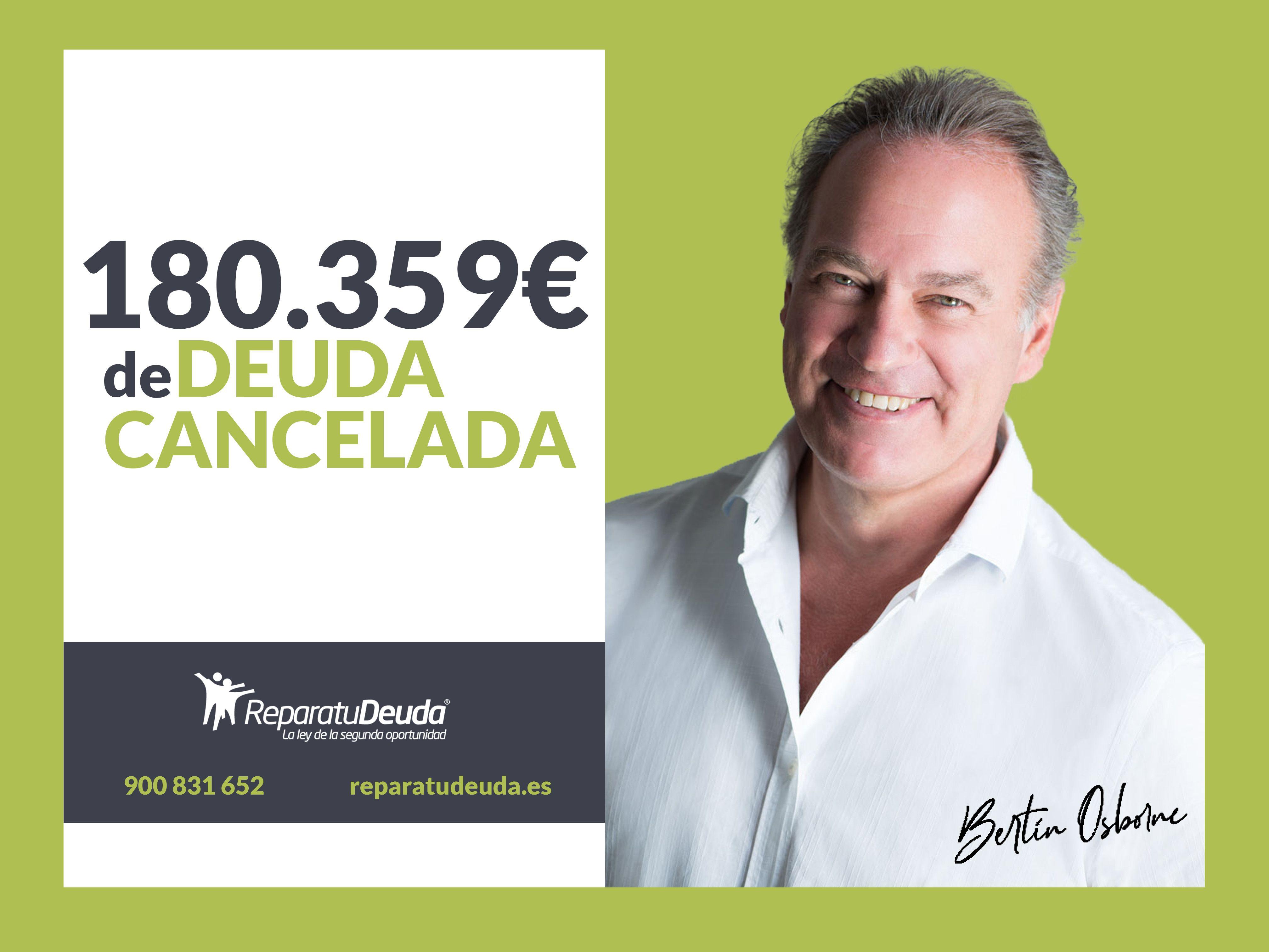 Repara tu deuda Abogados cancela 180.359 ? en Lleida, Catalunya, mediante la Ley de Segunda Oportunidad