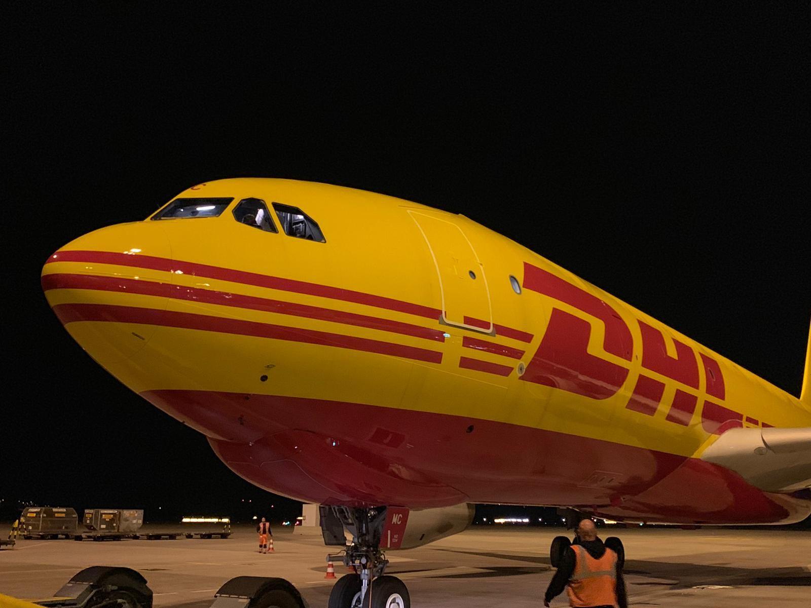 """DHL planea un """"vuelo perfecto"""" desde Leipzig a la ciudad de Nueva York"""