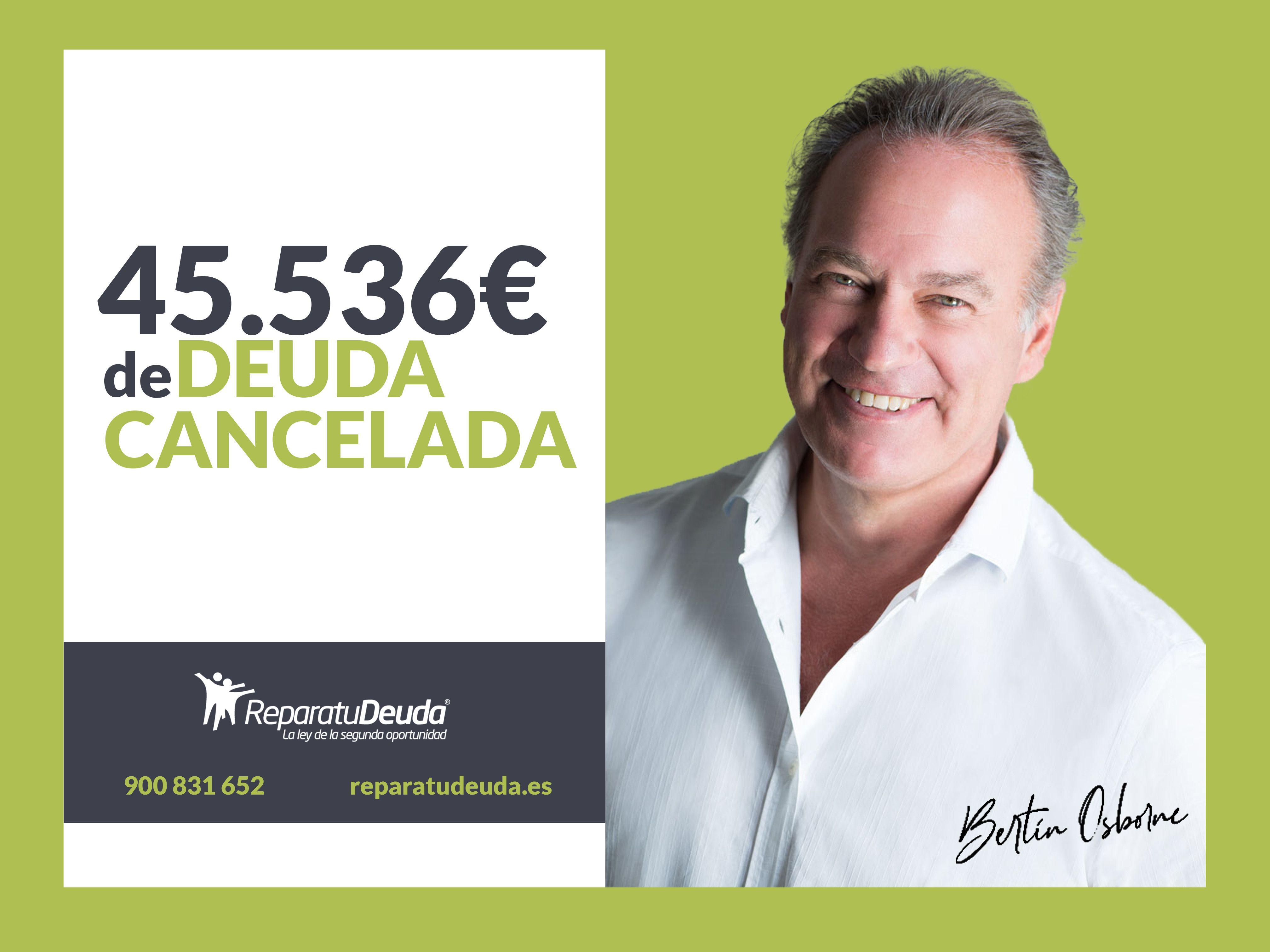 Repara tu deuda cancela 45.536 ? incluidos fiadores en Barcelona con la Ley de la segunda oportunidad
