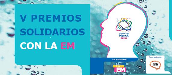 Abierto el plazo para presentar candidatura a los V Premios Solidarios Con la EM