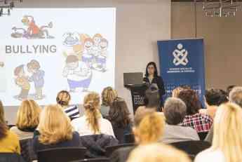 Imagen de archivo de la Jornada sobre Salud Escolar organizada por el COEGI el pasado año.