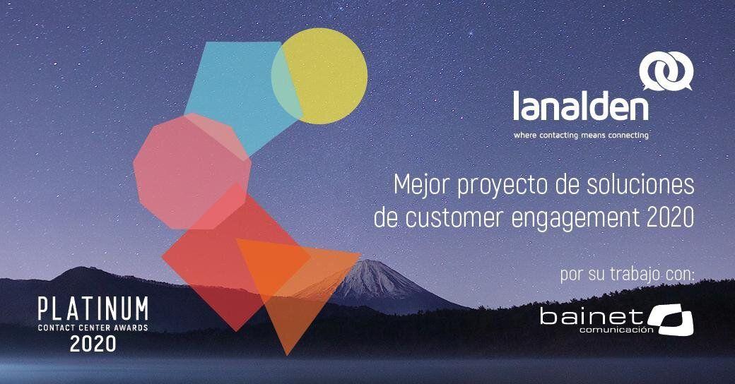 Foto de Premio Innovación Tecnológica en Customer Engagement