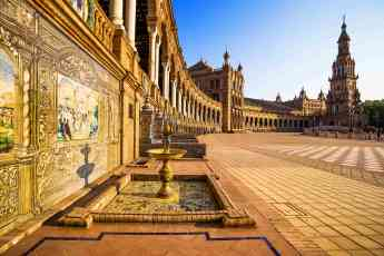 Foto de La Plaza de España sevillana