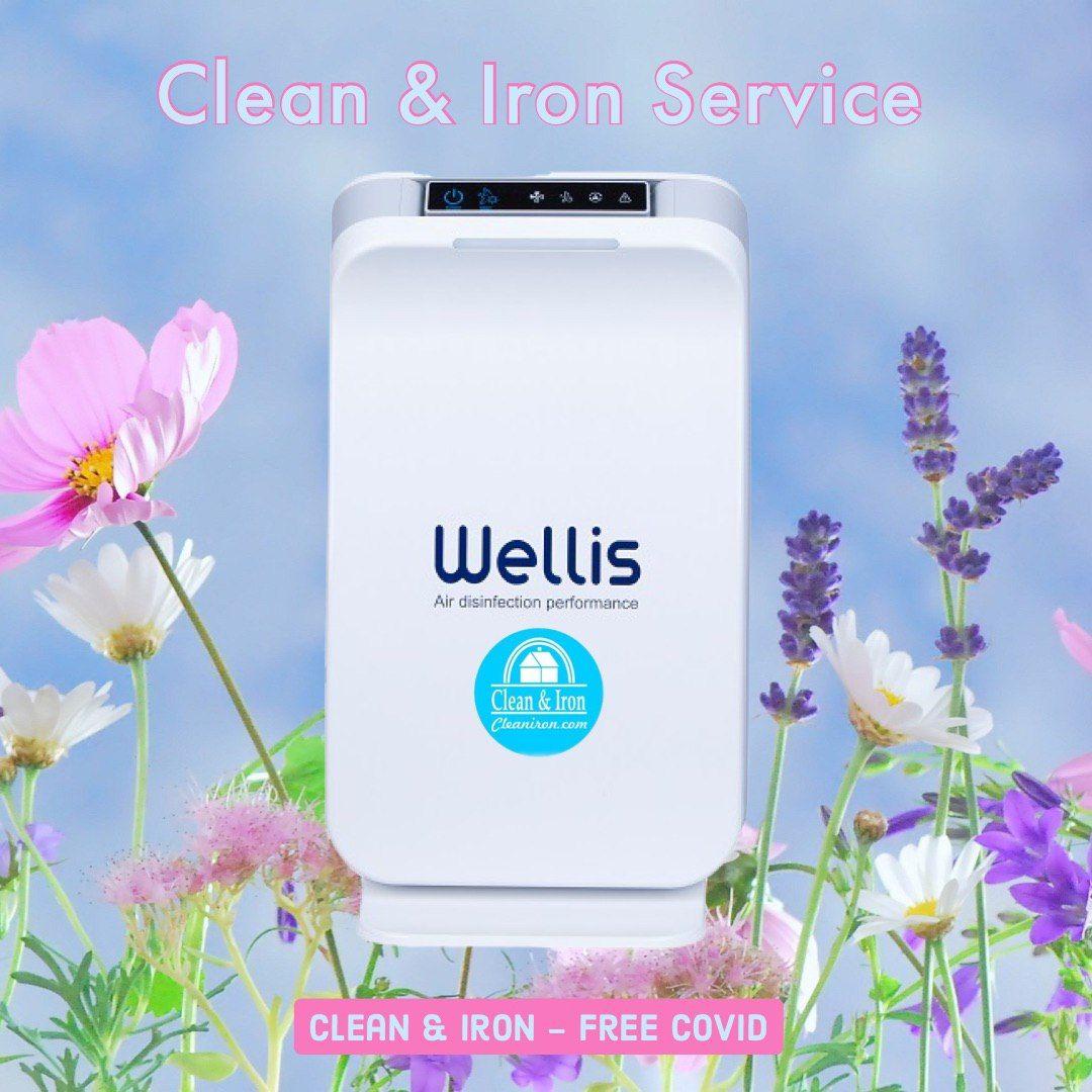 """Clean & Iron instala el purificador de aire  """"Wellisair"""" en los establecimientos de sus clientes"""