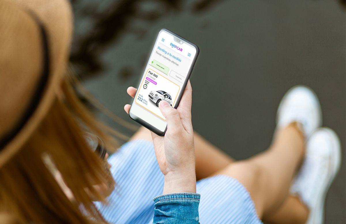 Foto de Swipcar desde el móvil