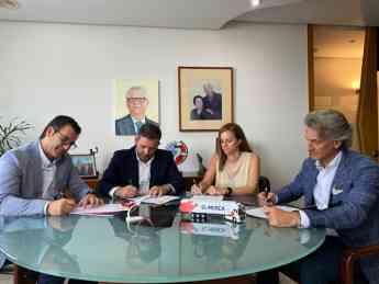 Foto de Constitución de la Fundación El Mosca