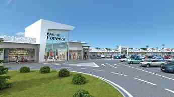Imagen exterior del centro comercial