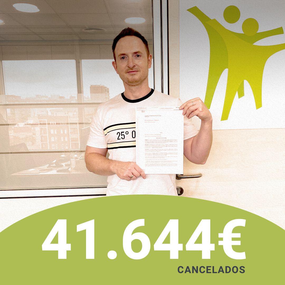 Repara tu Deuda cancela 41.644 ? de deuda en Terrassa (Barcelona) con la Ley de Segunda Oportunidad