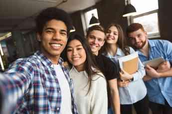 Foto de Estudiantes internacionales