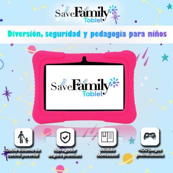 Foto de Nueva tablet de SaveFamily para niños