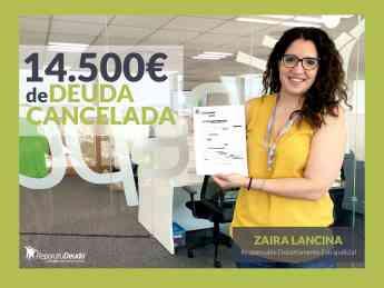 Zaira Lancina, Responsable del departamento Extrajudicial en Repara tu Deuda abogados