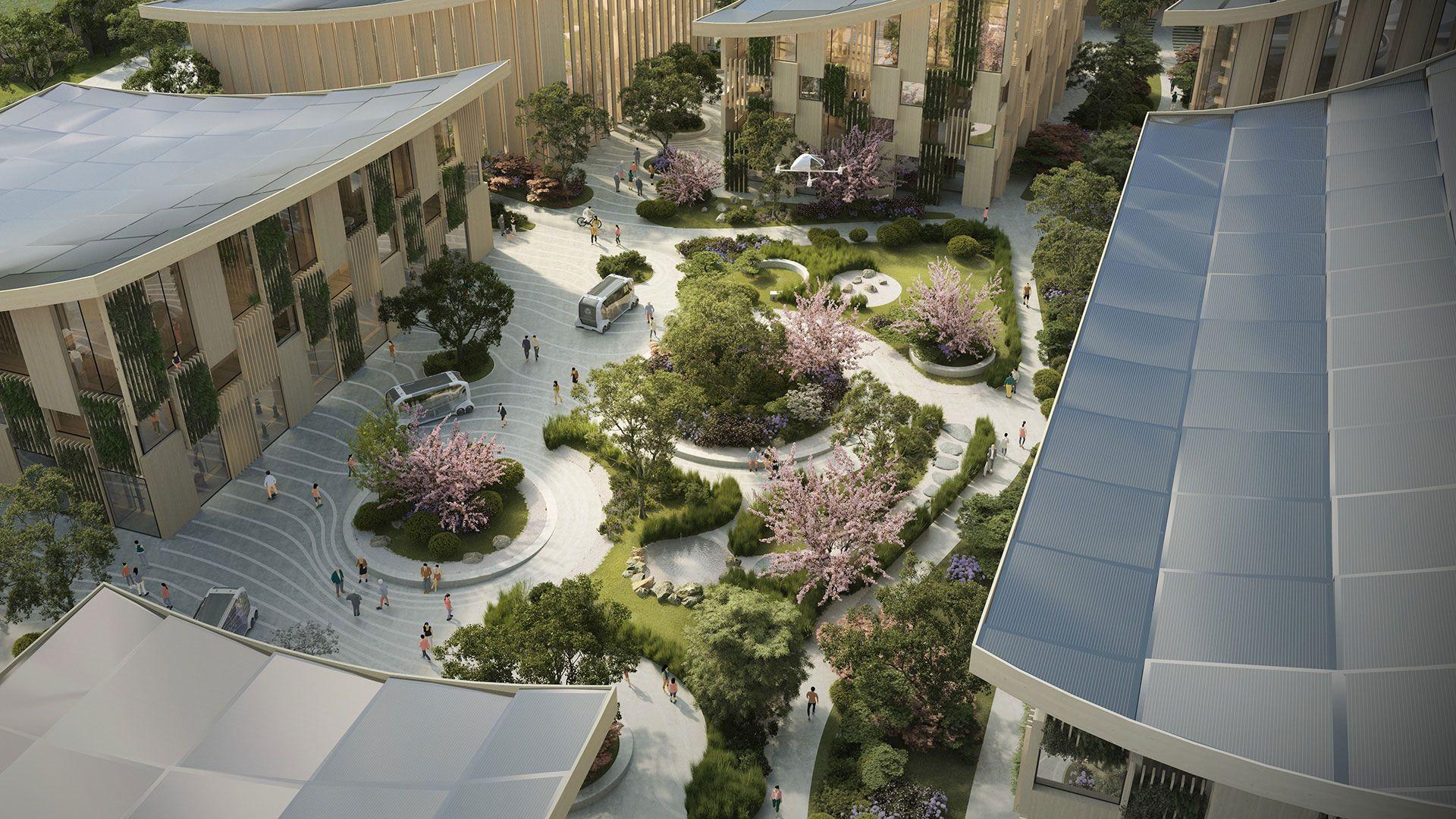 Foto de Woven City: hidrogeno, sostenibilidad e inteligencia