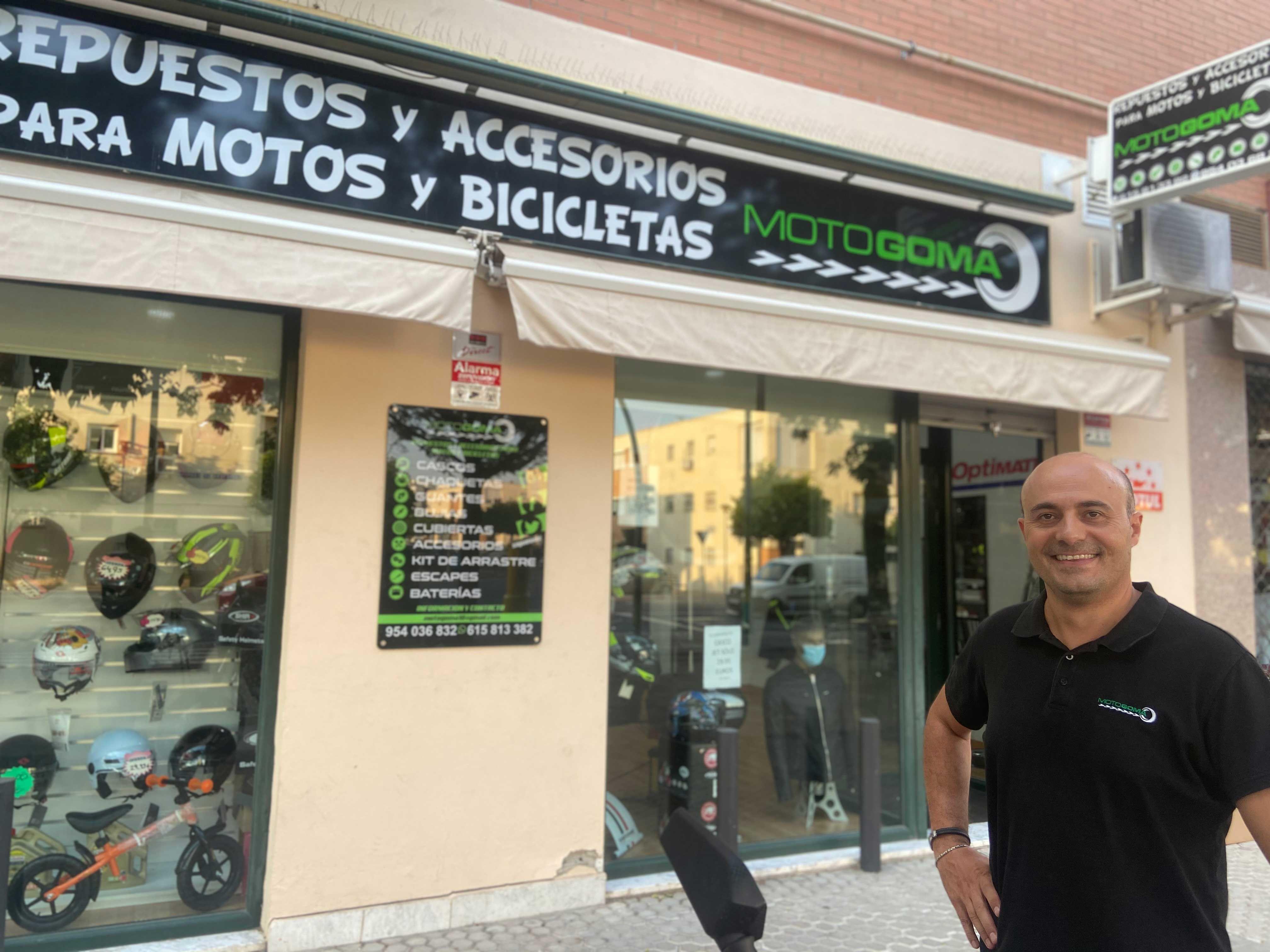 Fotografia Motogoma es una tienda especializada en recambios para