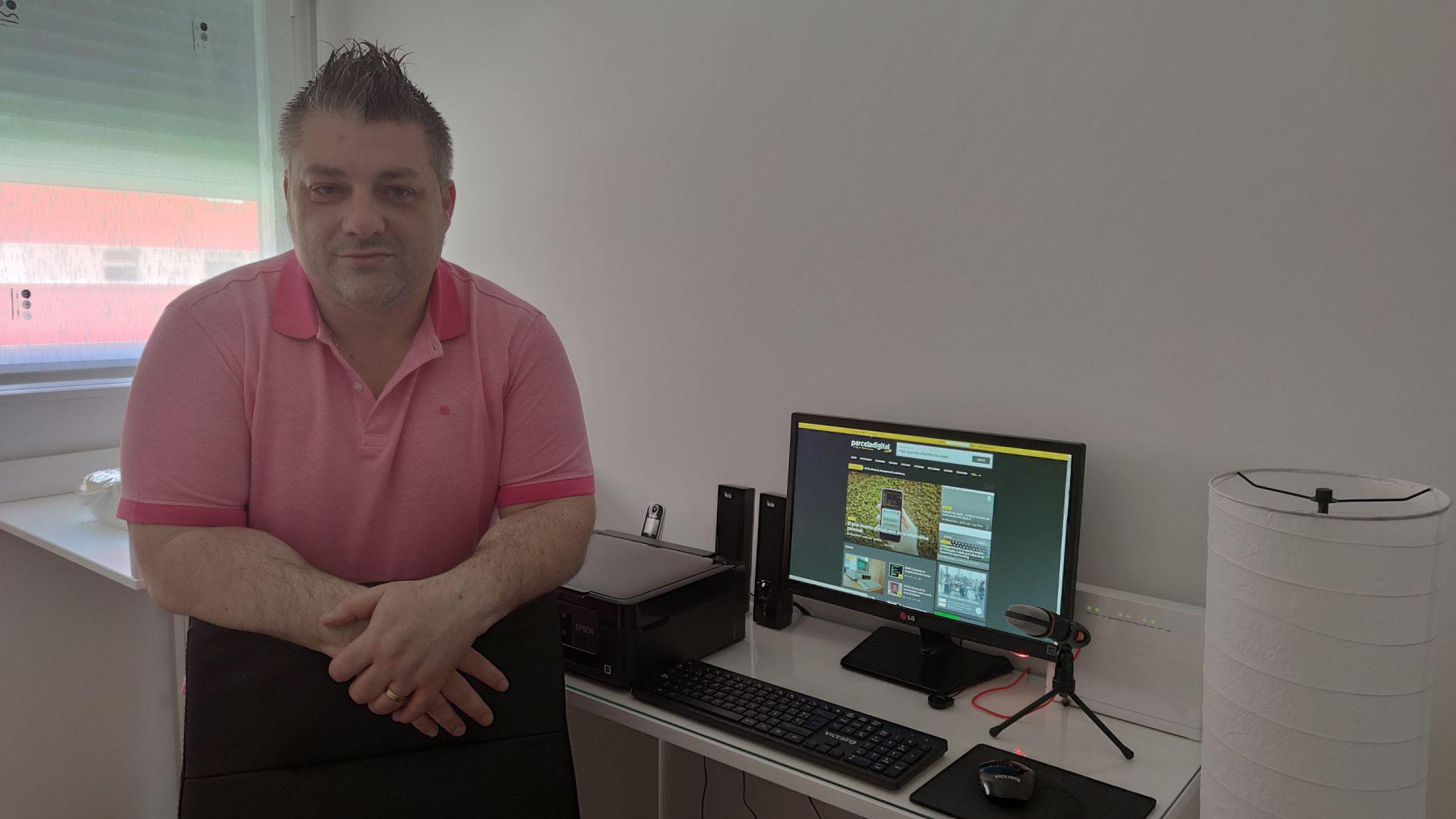 Fotografia Manuel Llaca y su blog ParcelaDigital