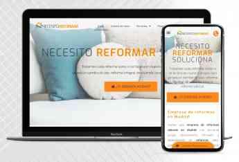 web necesito reformar soluciona