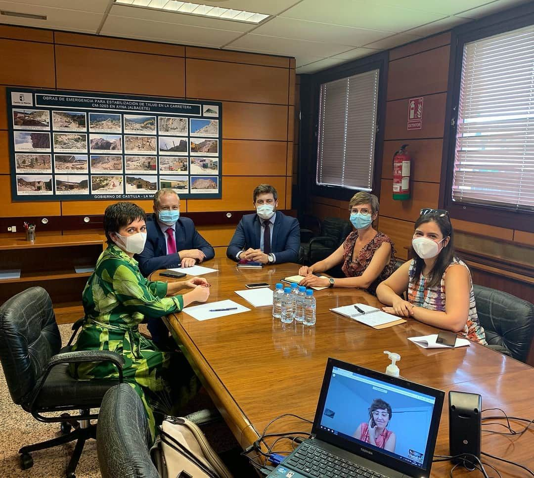 Foto de Reunión Fomento COACM