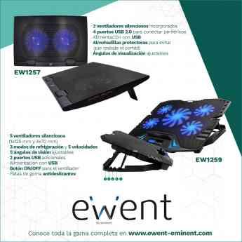 Soportes con ventilación de Ewent