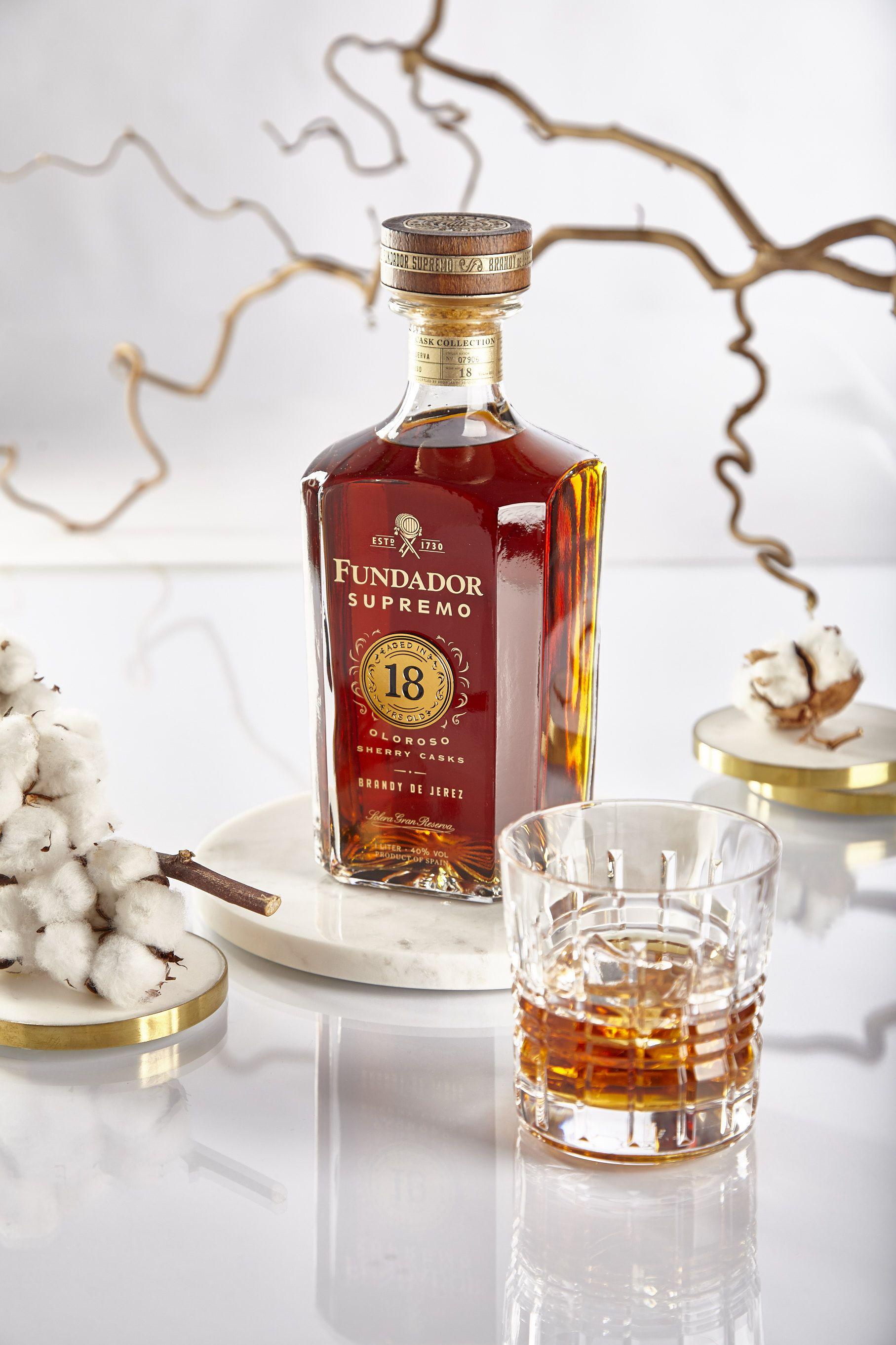 Fotografia Fundador Supremo 18 - El Mejor Brandy del Mundo