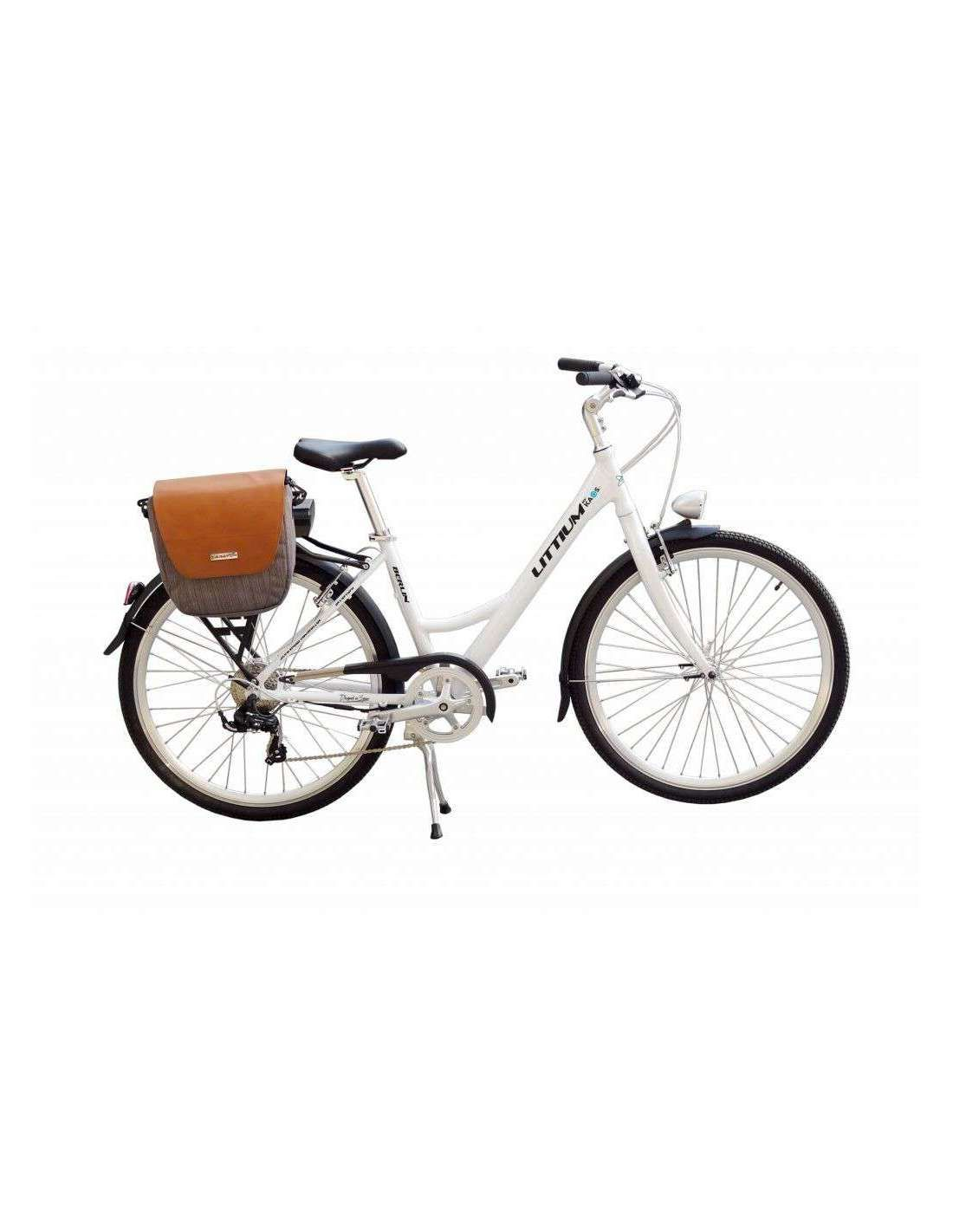 Foto de Bicicleta eléctrica plegable