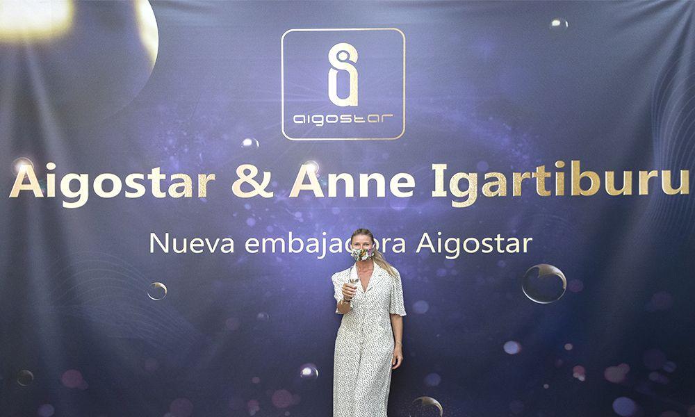 Fotografia Aigostar y Anne Igartiburu
