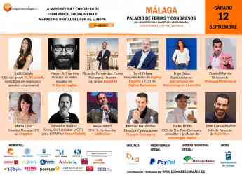 8º eCongress Málaga, el mayor congreso ecommerce, social media y marketing digital del sur de Europa