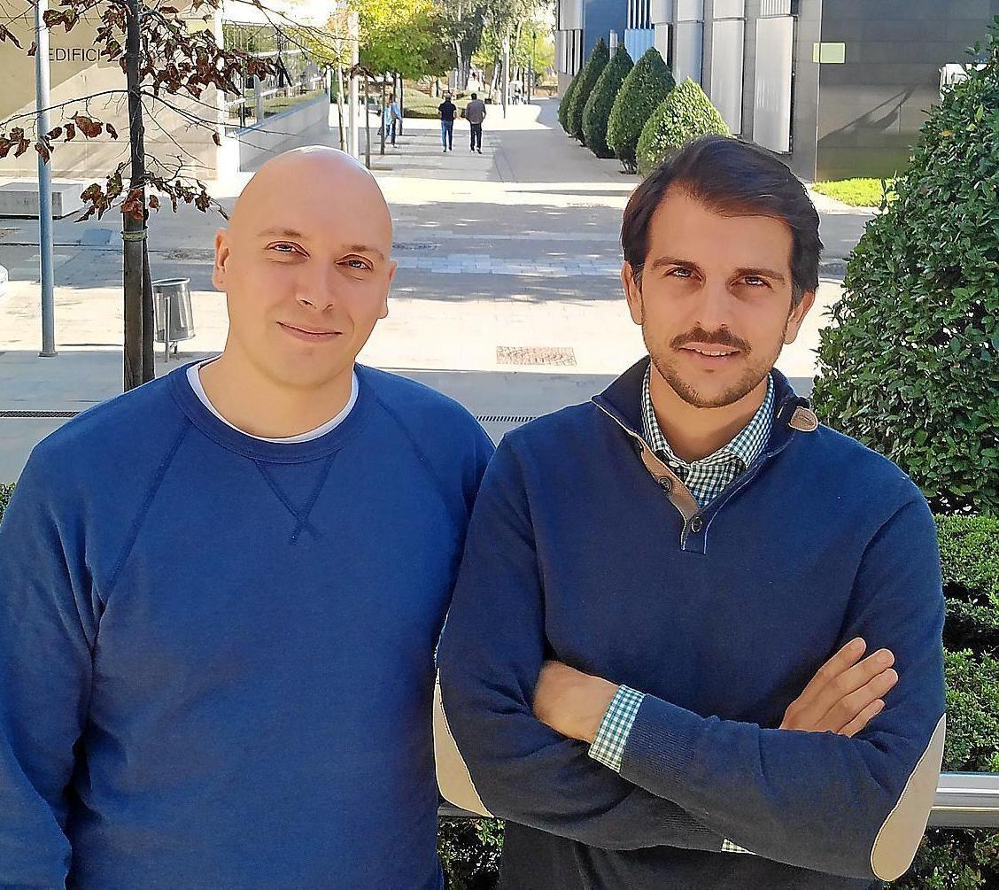 Cristian Alcoba y Maxime Renaudin