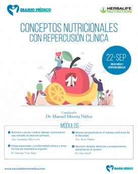 Curso de Herbalife Nutrition y Diario Médico