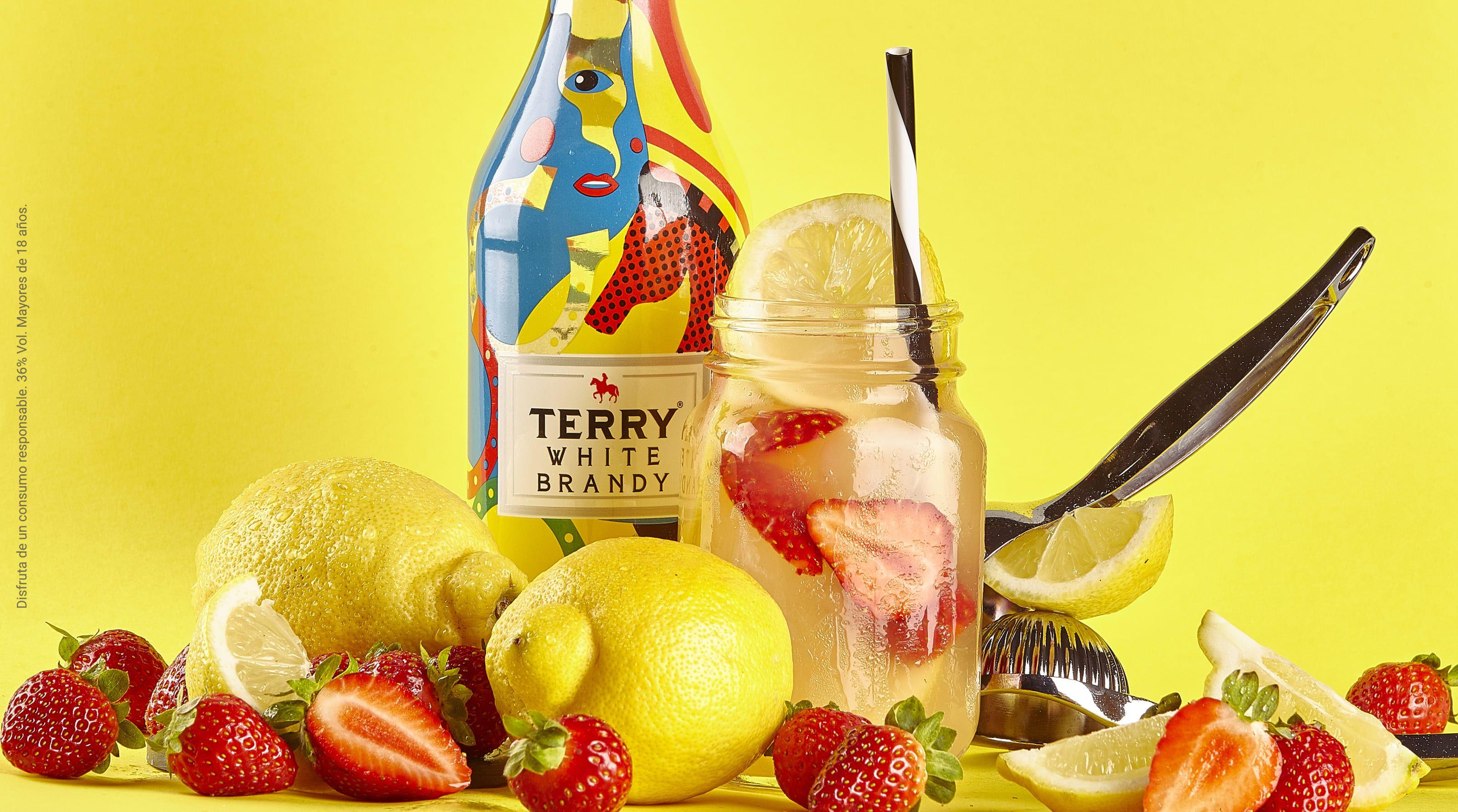 Foto de Cóctel Terry Fruity con Terry White Brandy