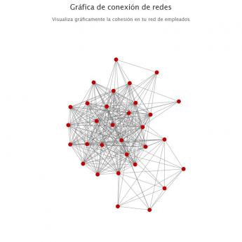 Foto de Mapa de conexión de redes