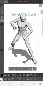 Foto de CLIP STUDIO PAINT para Galaxy, figuras 3D