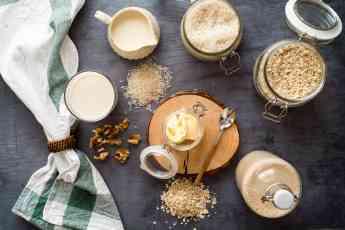 Lácteos vegetales, leches, margarinas, helados y yogures