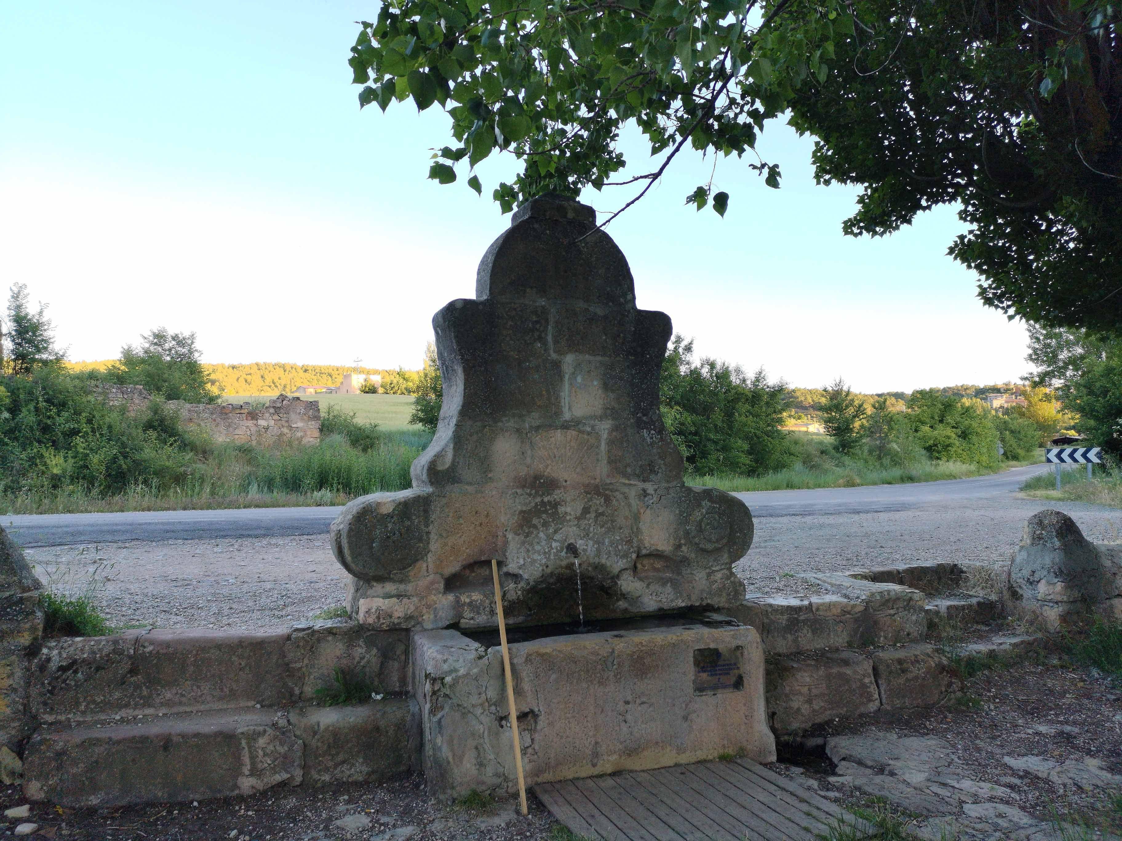 Foto de Fuente del Abanico, en Sigüenza