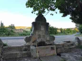 Fuente del Abanico, en Sigüenza
