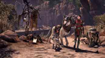 Escena del nuevo capítulo de The Elder Scrolls Online, Greymoor
