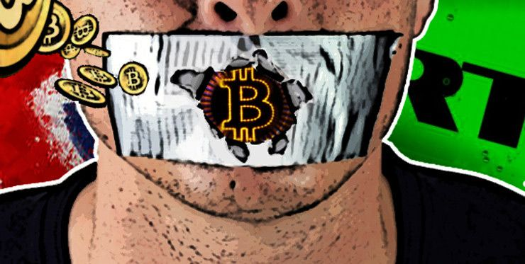Foto de Censura Bitcoin