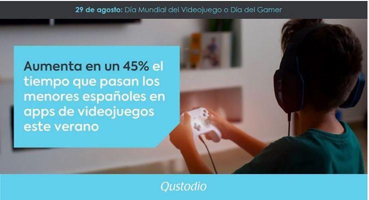 Foto de Aumenta en un 45% el tiempo que pasan los menores españoles