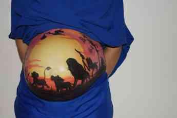 Belly Painting en época del coronavirus