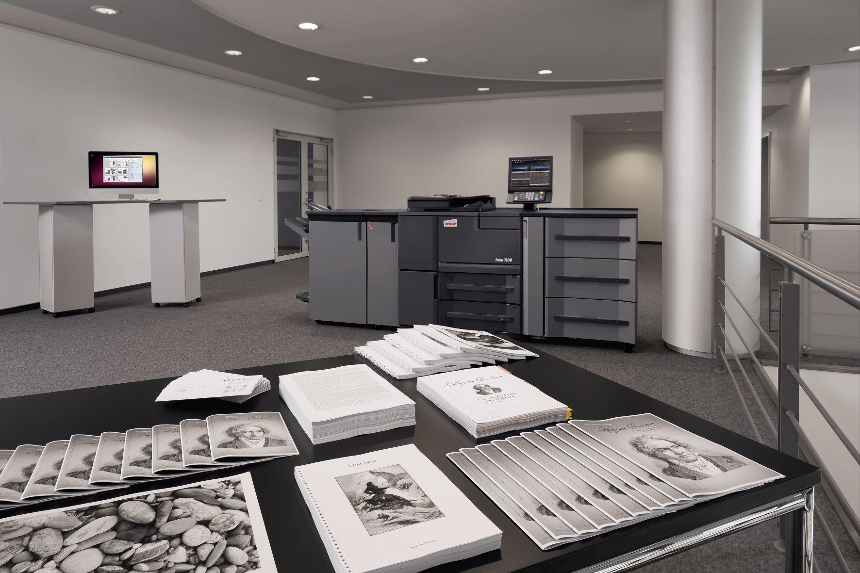 Foto de Impresora de alta producción DEVELOP para imprenta