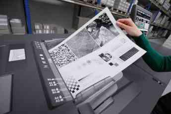 Foto de Impresión hecha con impresora de alta producción DEVELOP