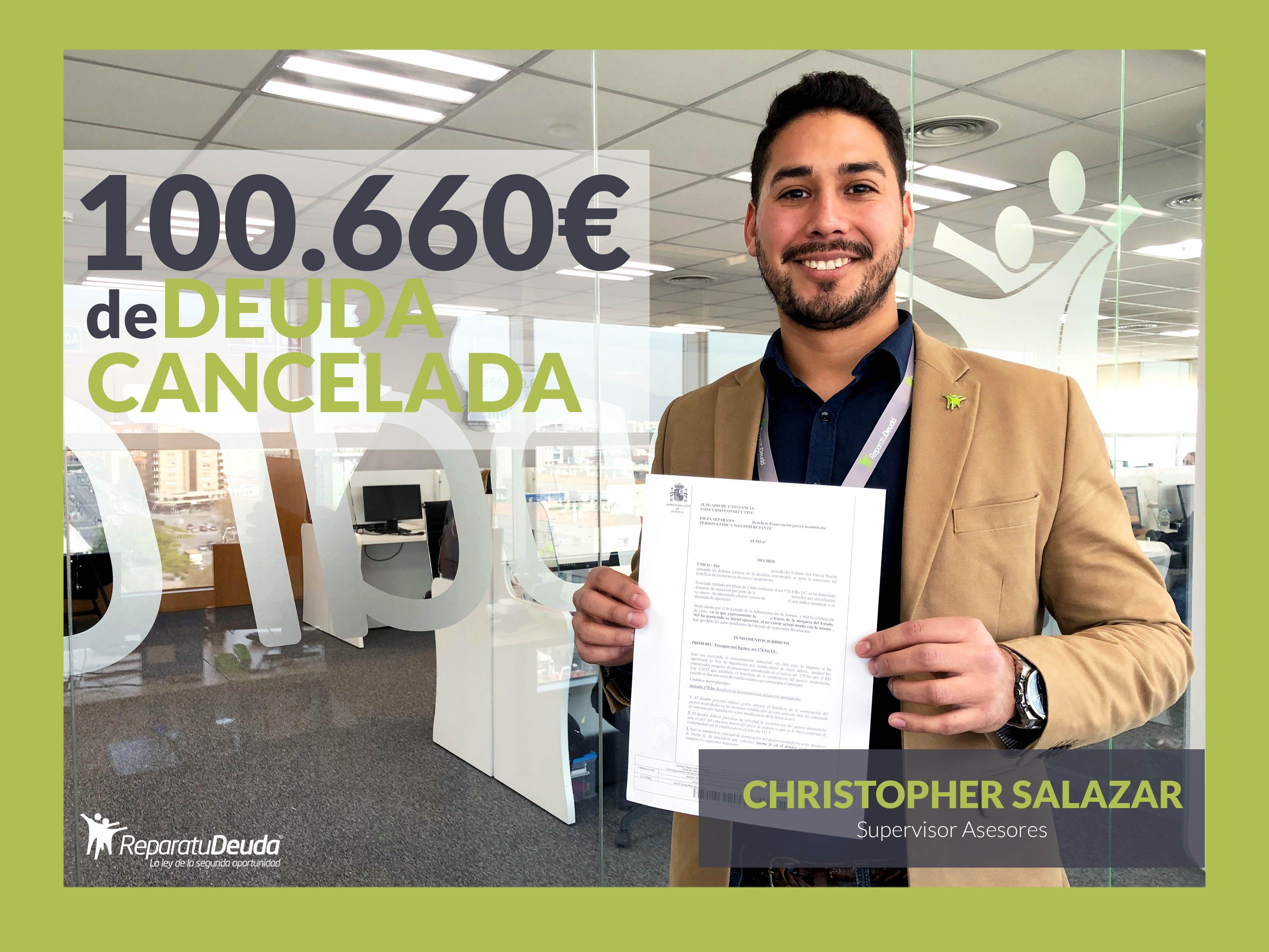 Repara tu Deuda abogados cancela en Mallorca (Baleares) 100.660 ? con la Ley de Segunda Oportunidad